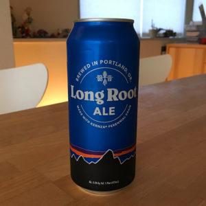 あのパタゴニアが作ったエールビール Long Root ALE