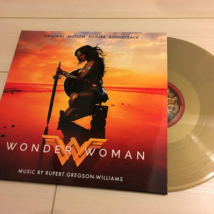 映画サントラ『ワンダーウーマン』アナログレコード盤