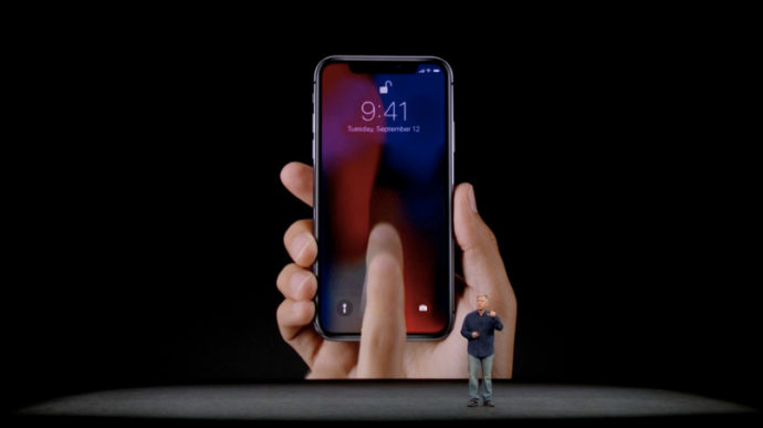 iPhoneX Apple発表会2017
