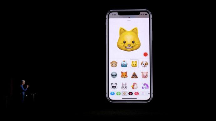 iPhoneX Animoji アニ文字