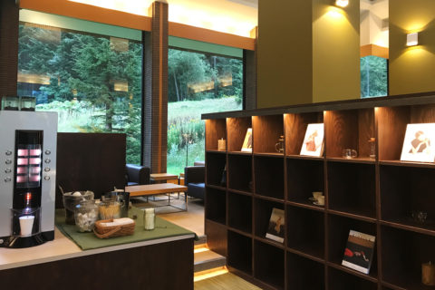 星野リゾート リゾナーレトマム Books&Cafe