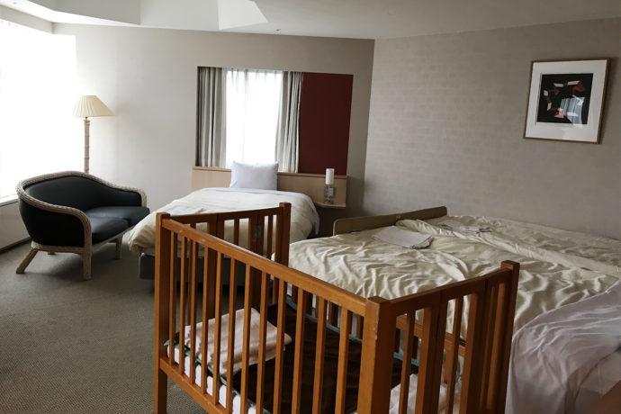 リゾナーレトマム 寝室