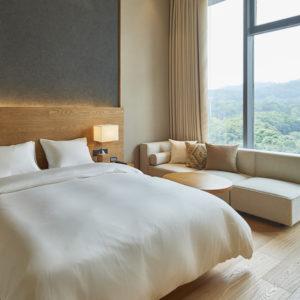 無印のホテル MUJI HOTEL SHENZHEN(中国深セン)の予約が開始、客室の様子もあきらかに