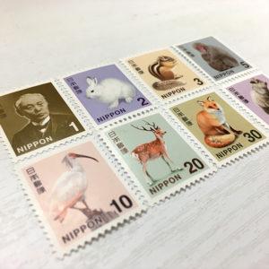 日本の切手デザインを知る(2018年版 1円から50円)