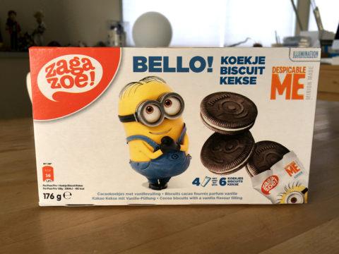 ミニオンズのお菓子 ココアビスケット KALDIで購入
