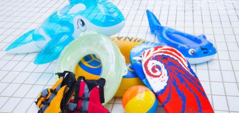 星野リゾート トマム ミナミナビーチのレンタル遊具