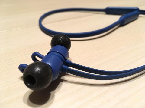 BeatsXにCOMPLYのイヤーチップで音質向上