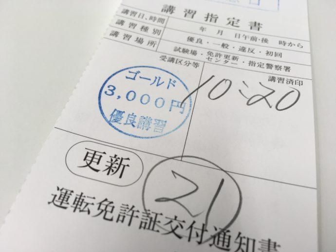 鮫洲試験場で免許更新