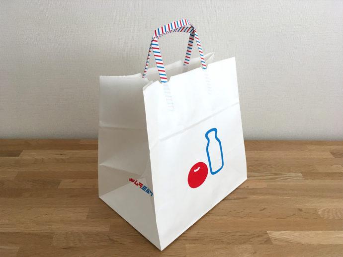 キムラミルク 紙袋がかわいい