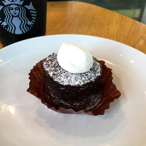 スターバックス チョコ in チョコレート プチケーキ