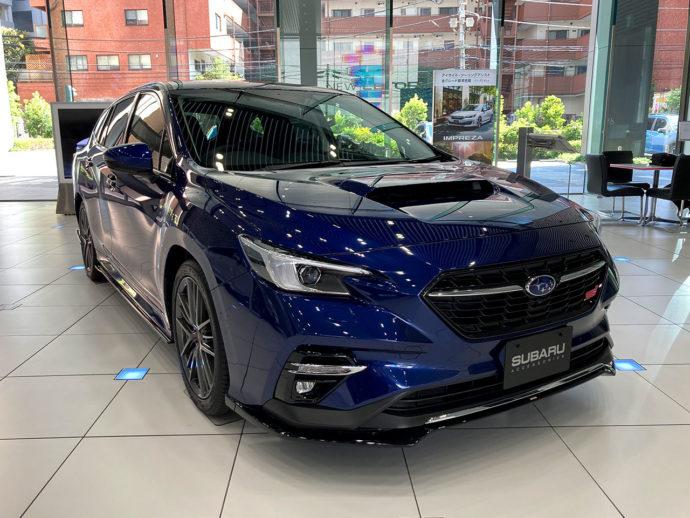 スバル 新型レヴォーグ 2020年モデル ラピスブルー・パール